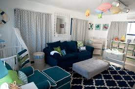 Living Room Chair Height Ocean Baby Room Light Yellow Wall Paint Blue Area Rug Wall Mount