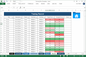 program schedule template excel amitdhull co