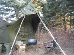 Diy Tent Wood Stove Proto 1 Youtube - how to set up a parateepee urban survival youtube