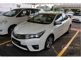 toyota corolla 2014 altis toyota corolla altis 2014 g 2 0 in penang automatic sedan white