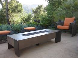 firepit coffee table propane furniture decor trend firepit