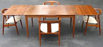 sweden u0026 denmark modern teak table u0026 4 chairs brass lantern antiques