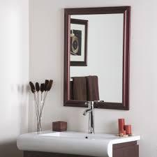 Oak Framed Bathroom Mirrors Glamorous Framed Mirrors For Bathroom Vanities Cabinets Cheap Wall