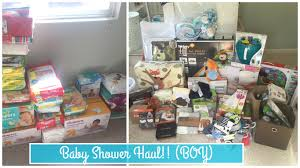 baby shower haul baby boy totallyblushing youtube