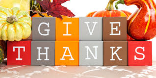 happy thanksgiving give someone a reason to be thankful today