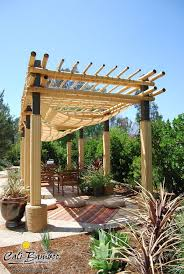 Bamboo Patio Cover 117 Best Bamboo Backyards Images On Pinterest Backyards