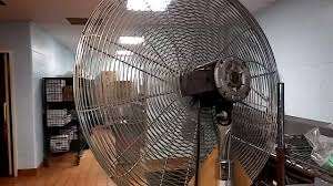 30 Oscillating Pedestal Fan Nova 30 Inch Commercial Industrial Stand Fan Youtube