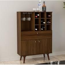 bar cabinet furniture modern wine bar cabinets allmodern
