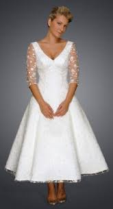 tea length wedding dresses uk