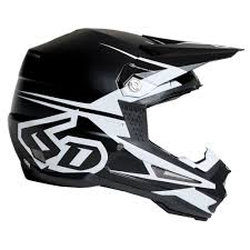 flat black motocross helmet 6d atr 1 s2 helmet matte black sixstar racing
