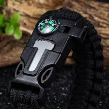 survival bracelet whistle images 5 in 1 paracord camping survival bracelet jpg