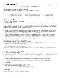 Job Resume For Teacher by 100 Teaching Professional Resume 100 Sample Resume For