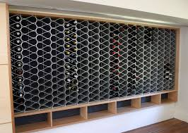 architectural metal wine rack are now available