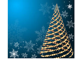 free christmas cards free cards set of blue charm christmas cards vector 02 vector