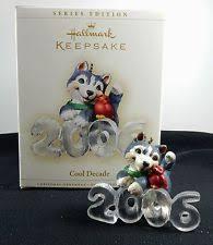hallmark ornaments cool decade ebay