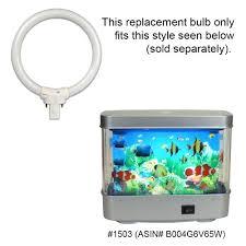 aquarium light bulb replacement circular fluorescent bulb 4 inch diameter 7 watt replacement for