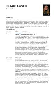 Resume For Marketing And Sales Vp Sales U0026 Marketing Resume Samples Visualcv Resume Samples Database