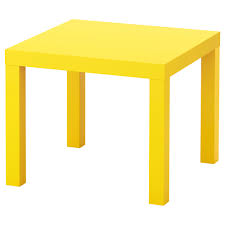 Yellow Side Table Ikea Lack Side Table Yellow 55x55 Cm Ikea Lack Side Table Ikea