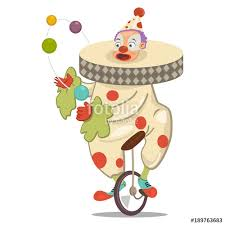 clown graphics 89 clown graphics backgrounds circus clown juggling on a unicycle vector character