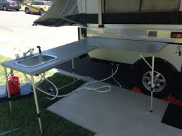 Cer Trailer Kitchen Designs Awesome Outdoor C Kitchen I This Idea Pop Up Cer