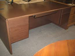 Used Hon Double Pedestal Desk Broadway Office