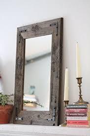 Rustic Bathroom Mirrors - rustic bathroom mirrors amazon com