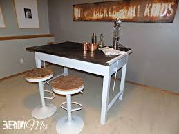 Drafting Table Stools by Diy Bar From Drafting Table Everyday Mrs