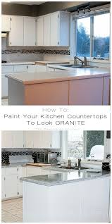 Kitchen Counter Top Design by Best 20 Paint Kitchen Countertops Ideas On Pinterest Painting