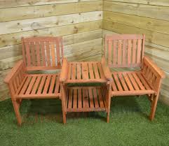 hardwood wooden garden furniture tete a tete garden seat bench