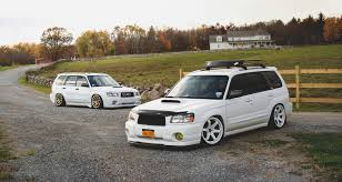 subaru forester lowered subaru forester xt sg9 jose colon flickr