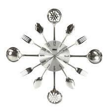pendule cuisine horloge murale cuisine topiwall