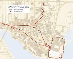 Uw Seattle Campus Map by 2016 Uw Tweed Ride Uw Sustainability