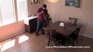 Dry Mops For Laminate Floors How To Use A Microfiber Mop For House Cleaning Youtube