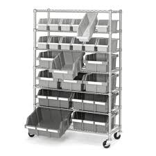 Shelves On Wheels by Garage Metal Shelving Units Szolfhok Com