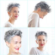 how to wear short natural gray hair for black women lovely grey hair natural greyhair that looks great with a red lip