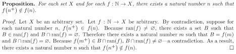 alternative proof definition of ordinal w axiom of regularity