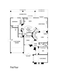 pulte homes floor plan