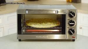 Hamilton Beach Digital 4 Slice Toaster 4 Slice Toaster Oven 31401c