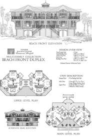 online commercial design concept multi family beach front duplex