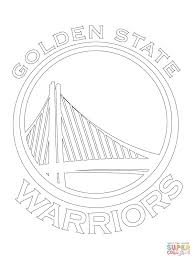 basketball coloring pages nba golden state warriors nba basketball teams logos coloring pages