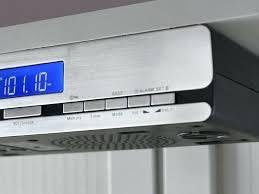 under cabinet bluetooth speaker kitchen under cabinet radio coryc me