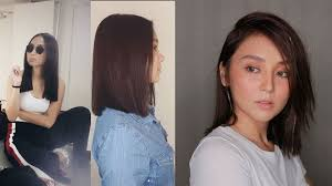 kathryn bernardo hair style wow kathryn bernardo cut her hair until three times to get