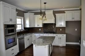 kitchen backsplash for cabinets glamorous kitchen backsplash white cabinets black countertop