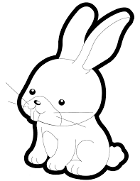 cute baby rabbit coloring page h u0026 m coloring pages
