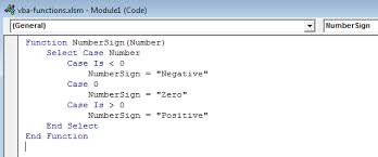 how to create custom vba functions and use them in the worksheet