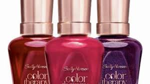 introducing color therapy from sally hansen the advanced new nail