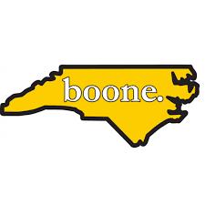of south carolina alumni sticker boone decal state of carolina outline black gold