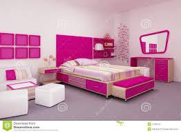 des chambre pour fille chambre à coucher de fille illustration stock illustration du