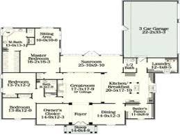 house plans open single story open floor plans with basement single story floor
