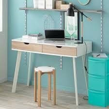 bureau blanc alinea alinéa aquila bureau blanc style scandinave à tiroirs imitation